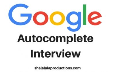 A New Approach to Interviewing – Using Google Autocomplete Function