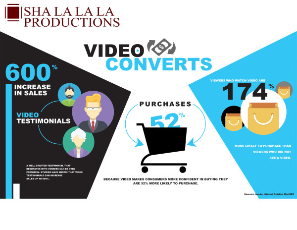 A free video infographics to help convince your boss why businesses needs a video?